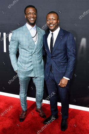 Aldis Hodge and Edwin Hodge