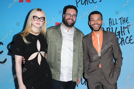 Elle Fanning, Brett Haley and Justice Smith