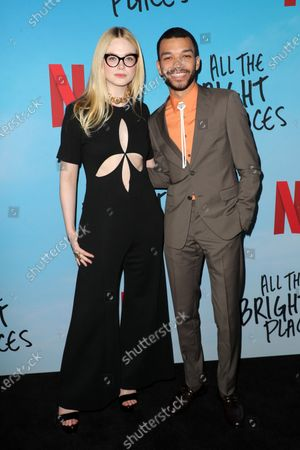 Editorial image of 'All the Bright Places' film special screening, Arrivals, ArcLight Cinemas, Los Angeles, USA - 24 Feb 2020