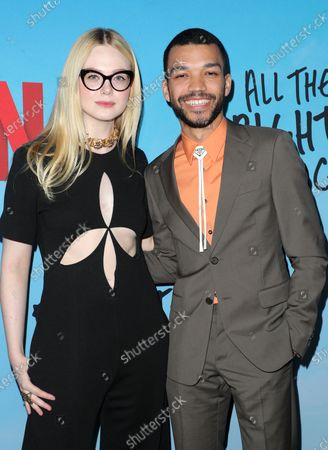 Elle Fanning and Justice Smith