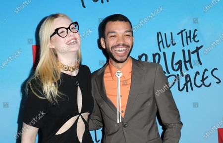 Stock Picture of Elle Fanning and Justice Smith