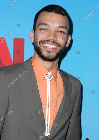 Stock Image of Justice Smith