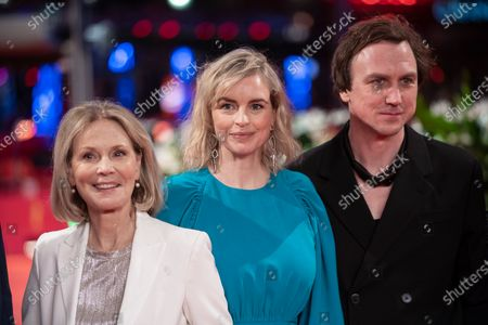Stock Image of Nina Hoss, Lars Eidinger and Marthe Keller