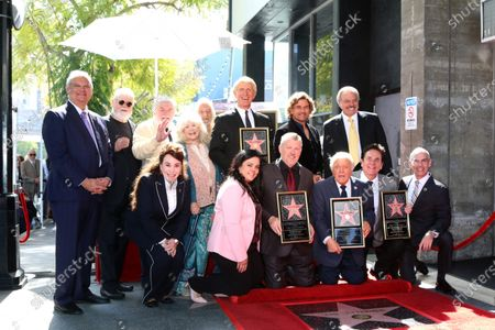 Editorial image of The Lettermen Honored with a Star on the Hollywood Walk of Fame, Los Angeles, USA - 24 Feb 2020