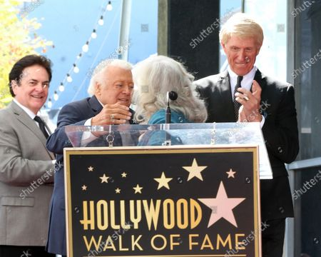 Editorial photo of The Lettermen Honored with a Star on the Hollywood Walk of Fame, Los Angeles, USA - 24 Feb 2020
