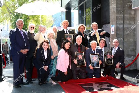 The Lettermen, Chamber officials, and former Lettermen members, Connie Stevens