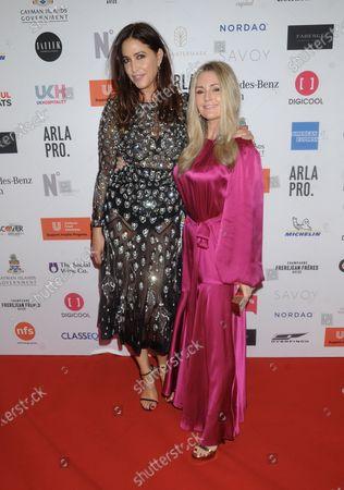 Lisa Snowdon and Donna Ida