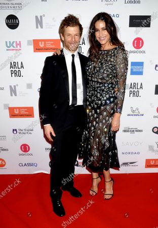 Tom Aikens and Lisa Snowdon