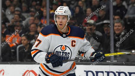 Edmonton Oilers center Connor McDavid skates during the third period of an NHL hockey game against the Los Angeles Kings, in Los Angeles. The Oilers won 4-2