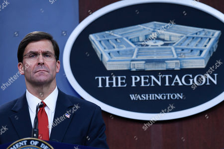 Editorial image of Pentagon Esper US South Korea, Washington, USA - 24 Feb 2020
