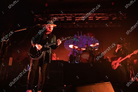 Editorial photo of Supergrass in concert at O2 Academy, Newcastle, UK - 24 Feb 2020