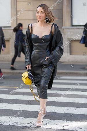 Editorial image of Street style, Fall Winter 2020, Milan Fashion Week, Italy - 22 Feb 2020