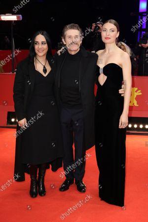 Giada Colagrande, Willem Dafoe and Cristina Chiriac