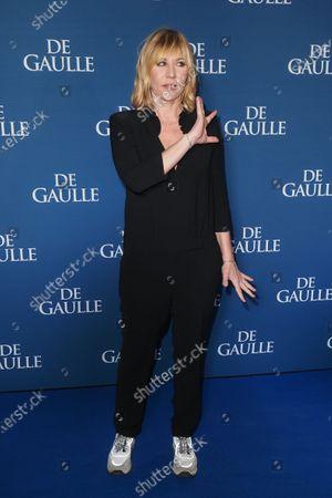 Editorial image of 'De Gaulle' film premiere, UGC Normandie, Paris, France - 24 Feb 2020