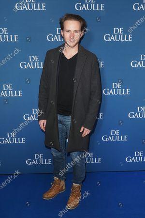 Editorial photo of 'De Gaulle' film premiere, UGC Normandie, Paris, France - 24 Feb 2020