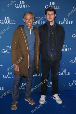 Paul Belmondo and Giacomo Belmondo