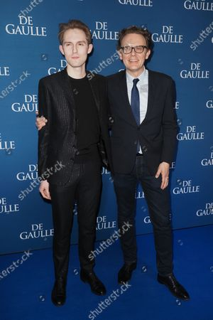 Stock Image of Felix Back and Gabriel Le Bomin