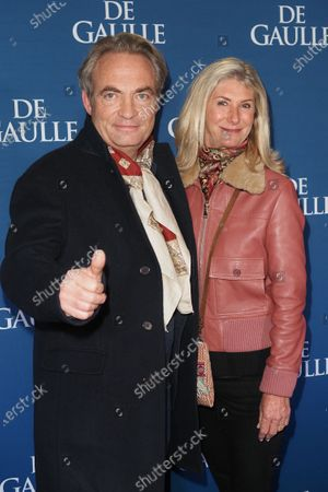 Editorial image of 'De Gaulle' film premiere, UGC Normandie, Paris, France - 24 Feb 2020