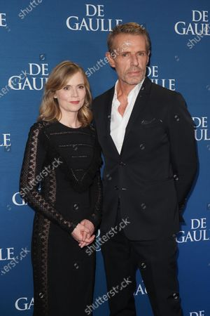 Isabelle Carre and Lambert Wilson