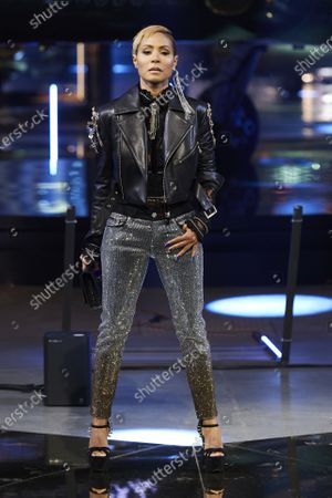 Jada Pinkett Smith on the catwalk