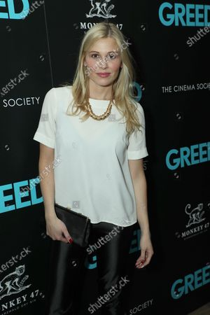 "Editorial photo of Sony Pictures Classics & The Cinema Society host a special screening of ""Greed"", New York, USA - 24 Feb 2020"