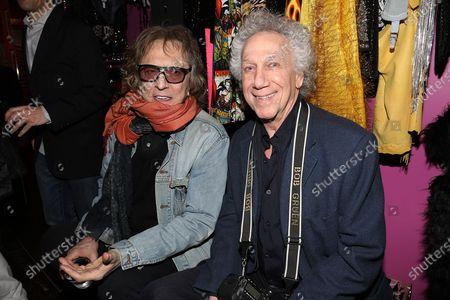 Mick Rock and Bob Gruen