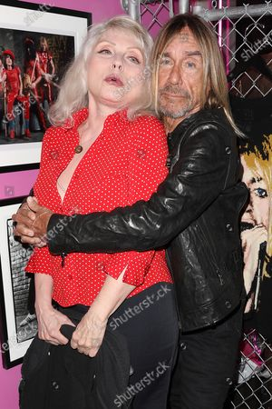 Deborah Harry and Iggy Pop