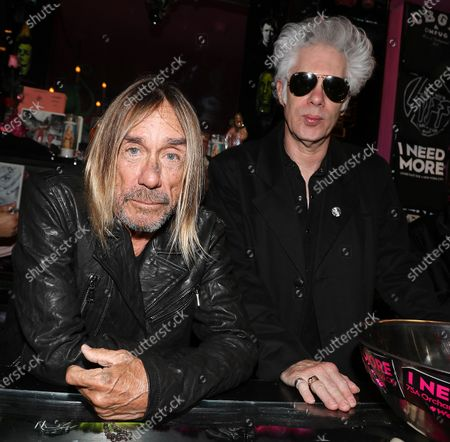 Editorial image of I NEED MORE Presents - 'Footprints in February' with Iggy Pop and Debbie Harry, New York, USA - 24 Feb 2020