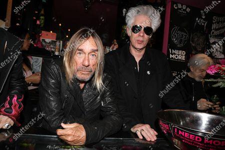 Iggy Pop and Jim Jarmusch