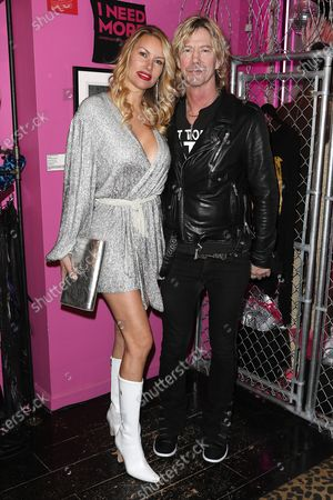 Stock Picture of Susan Holmes McKagan and Duff McKagan