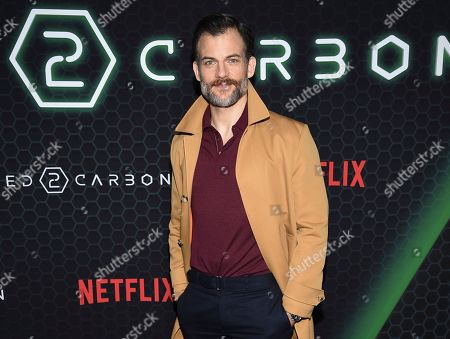 "Torben Liebrecht attends Netflix's ""Altered Carbon"" season 2 premiere at AMC Lincoln Square, in New York"