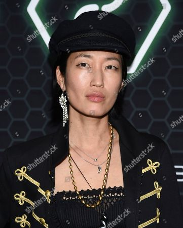 """Jihae attends Netflix's """"Altered Carbon"""" season 2 premiere at AMC Lincoln Square, in New York"""