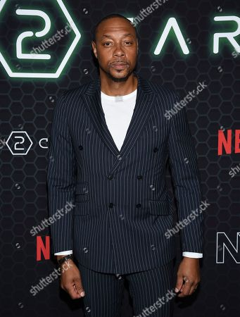 """Dorian Missick attends Netflix's """"Altered Carbon"""" season 2 premiere at AMC Lincoln Square, in New York"""