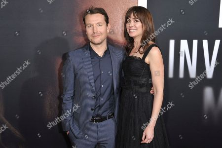 """Leigh Whannell, Corbett Tuck. Leigh Whannell and Corbett Tuck attend the LA premiere of """"The Invisible Man"""" at the TCL Chinese Theatre, in Los Angeles"""