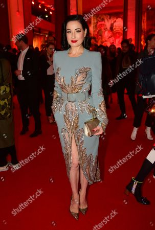 Editorial picture of 'Exhibitioniste' exhibition opening at Palais Doree, Paris, France - 24 Feb 2020