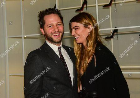Stock Photo of Derek Blasberg  , Bianca Brandolini D'Adda