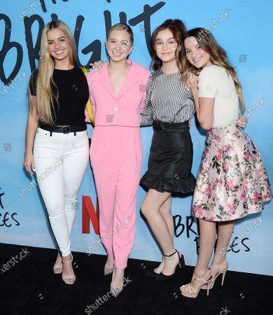 Addison Rae, Lilia Buckingham, Anna Cathcart and Annie LeBlanc