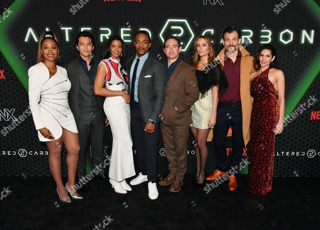 Simone Missick, Will Yun Lee, Renee Elise Goldsberry, Anthony Mackie, Chris Conner, Dina Shihabi, Torben Liebrecht, Lela Loren