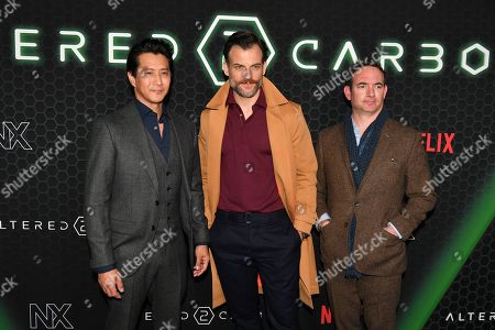Will Yun Lee, Torben Liebrecht, Chris Conner