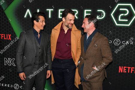 Editorial image of Netflix 'Altered Carbon' TV show season 2 premiere, Arrivals, AMC Lincoln Square 13, New York, USA - 24 Feb 2020