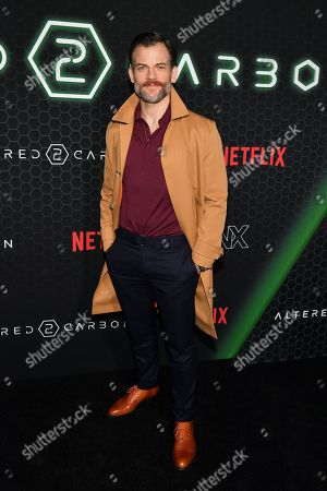 Editorial picture of Netflix 'Altered Carbon' TV show season 2 premiere, Arrivals, AMC Lincoln Square 13, New York, USA - 24 Feb 2020