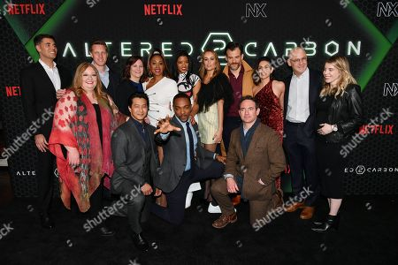 Editorial photo of Netflix 'Altered Carbon' TV show season 2 premiere, Arrivals, AMC Lincoln Square 13, New York, USA - 24 Feb 2020