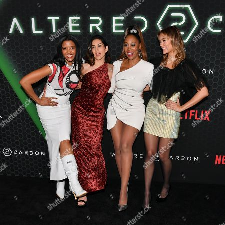 Renee Elise Goldsberry, Lela Loren, Simone Missick, Dina Shihabi