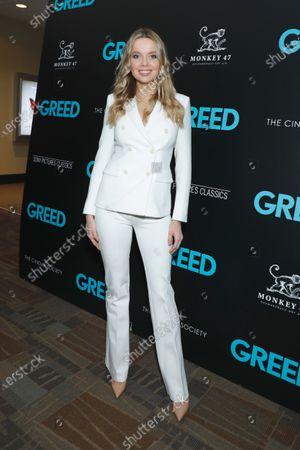 Editorial photo of 'Greed' film screening, New York, USA - 24 Feb 2020