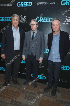 Stock Image of Tom Bernard, Steve Coogan and Michael Winterbottom