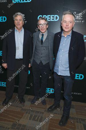 Stock Photo of Tom Bernard, Steve Coogan and Michael Winterbottom