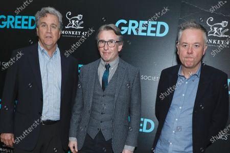 Tom Bernard, Steve Coogan and Michael Winterbottom