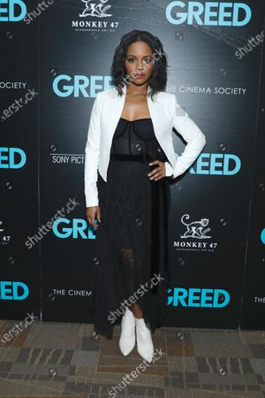 Editorial picture of 'Greed' film screening, New York, USA - 24 Feb 2020