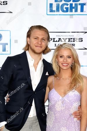 Stock Photo of William Karlsson and Emily Ferguson