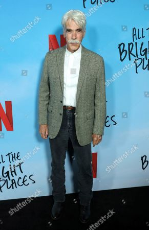 "Sam Elliott attends the LA Special Screening of ""All The Bright Places"" at the ArcLight Cinemas Hollywood, in Los Angeles"